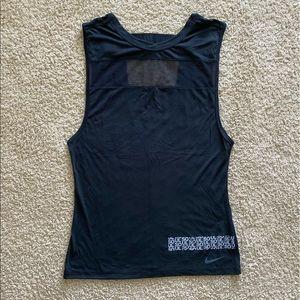 SoulCycle x Nike Black Low Back Tank Top Sz S